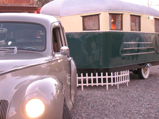 1937 Covered Wagon Restored